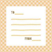 Cartão de greeting3 — Vetor de Stock