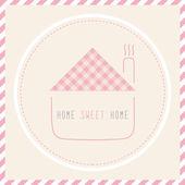 Casa dulce home2 — Vector de stock
