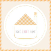 Home sweet home3 — Vector de stock