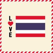 Me encanta thailand22 — Vector de stock