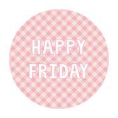 Happy Friday background4 — Vector de stock