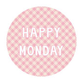 Happy Monday background4 — Vector de stock