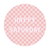 Happy Saturday background4 — Vector de stock
