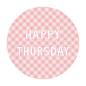 Happy Thursday background4 — Vector de stock