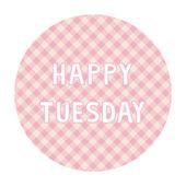 Happy Tuesday background4 — Vector de stock
