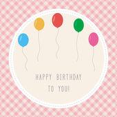 Happy birthday to you3 — Vecteur