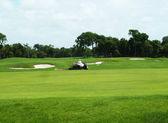 Golf Fairway — Stock Photo