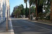 通往海旁,巴里的街 — 图库照片