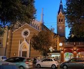 Еvening Rimini. — Stock Photo