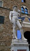 статуя на площади синьории — Стоковое фото