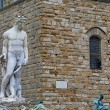 Statue on the Piazza della Signoria — Stock Photo
