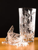 Shards of broken vase — Stock Photo