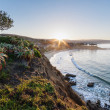 Sunrise over Laguna Beach - Stock Photo