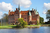 Egeskov castle — Foto Stock