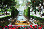 Beautiful fountain in Palma de Majorca — Stock Photo