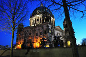 Berliner Dom (Berlin Cathedral) is a temple of the Evangelical C — Stock Photo