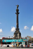 Europe, spain.barcelona, Christopher Columbus' historical monume — Stock Photo