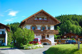 Beautiful house in Germany — Stock Photo