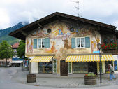 Bavarian house — Stock Photo