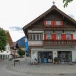 Bavarian house and street — Stock Photo #37905425