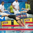 YuliEfimov(Russia) at EuropeSwimming Championships 2010 — Stock Photo #14056544