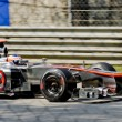 McLaren's driver Jenson Button - Stock Photo