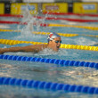 Caterina Giacchetti  (Italy) at European Swimming Championships — Foto de Stock