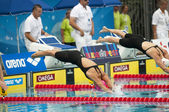 Yulia Efimova (Russia) at European Swimming Championships 2010 — Stock Photo