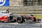 McLaren's driver Jenson Button — Stock Photo