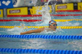 Caterina Giacchetti (Italy) at European Swimming Championships — Stock Photo