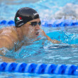 Fabio Scozzoli (Italy) at European Swimming Championships LEN 2 - Stock Photo