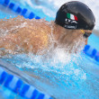 Fabio Scozzoli (Italy) at EuropeSwimming Championships LEN 2 — Stock Photo #14060390