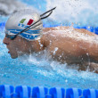 Niccolò Beni (Italy) at EuropeSwimming Championships LEN 201 — Stock Photo #14060449