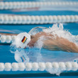 Benjamin Starke swimming Butterfly — Stock Photo