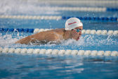 Benjamin Starke swimming Butterfly — Stockfoto