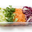 Stock Photo: Salads food packed