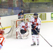 Hockey su ghiaccio italiano premier league — Foto Stock