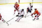 Italské premier liga ledního hokeje — Stock fotografie