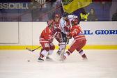 Buz hokeyi i̇talyan premier ligi — Stok fotoğraf