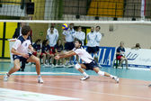 Volley — Stockfoto