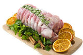 Roast of veal with rosemary — Stock Photo