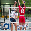 Stock Photo: Volley