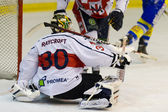 Ice Hockey Goalie — Stock Photo