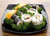 Sushi mixed — Stock Photo