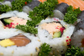 Japan Sushi background — Stock Photo