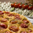 Royalty-Free Stock Photo: Apulian Focaccia with tomatoes