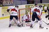 Hockey su ghiaccio — Foto Stock