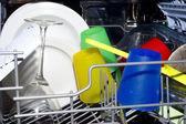 Interni lavaggio piatto — Foto Stock