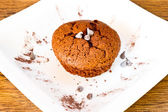 Muffin de chocolate — Foto de Stock