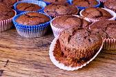 Chocolat muffins — Stock fotografie